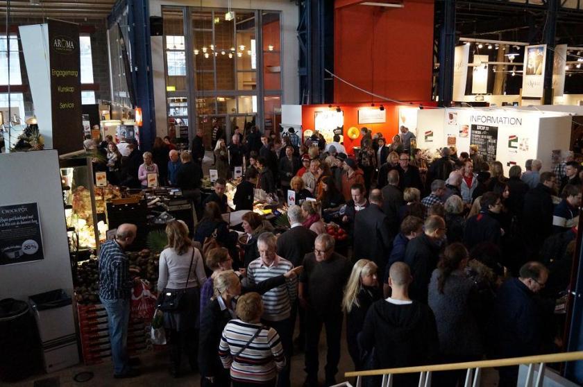 Passion för Mat genomfördes för sjätte gången sedan starten 2008 och hade i år cirka 120 utställare.
