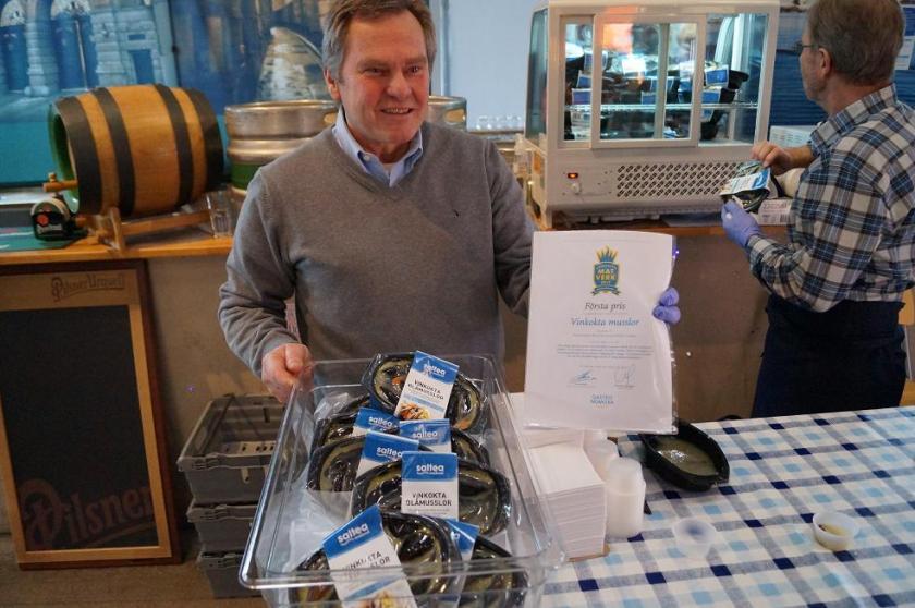 Vinkokta musslor - första pris 2013!