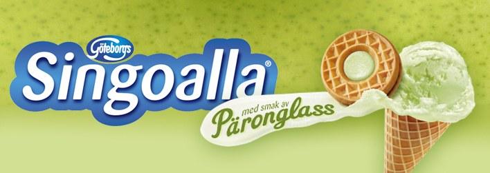 Päronglass och glassrån - på Singoallas vis...