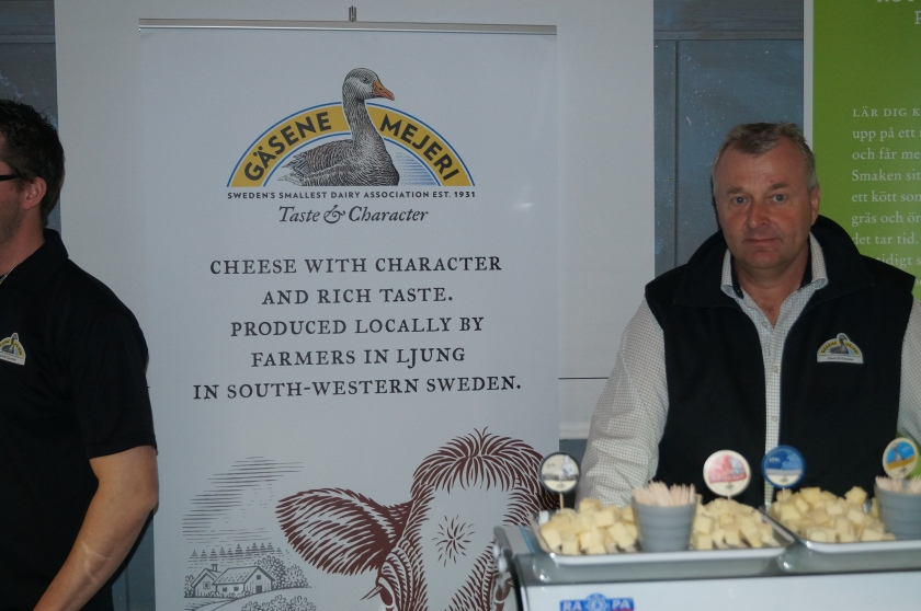 Gåsene mejeri med utsökta ostar av lokalt producerad, garanterat helsvensk mjölk!