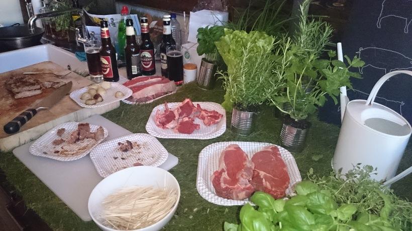 Irish Food Board bjöd på gräsuppfött lamm och nötkött. Så mört och gott! (Foto: Charles Thulin)