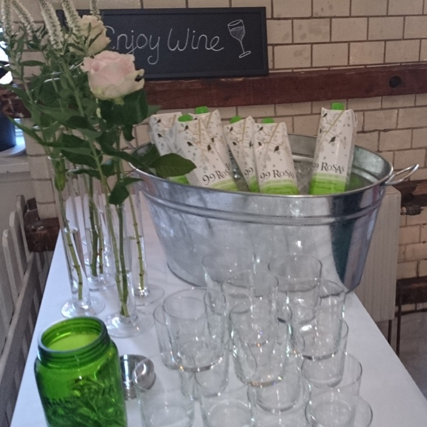 Fräscht och sommarlätt från Enjoy Wine! (Foto: Charles Thulin)