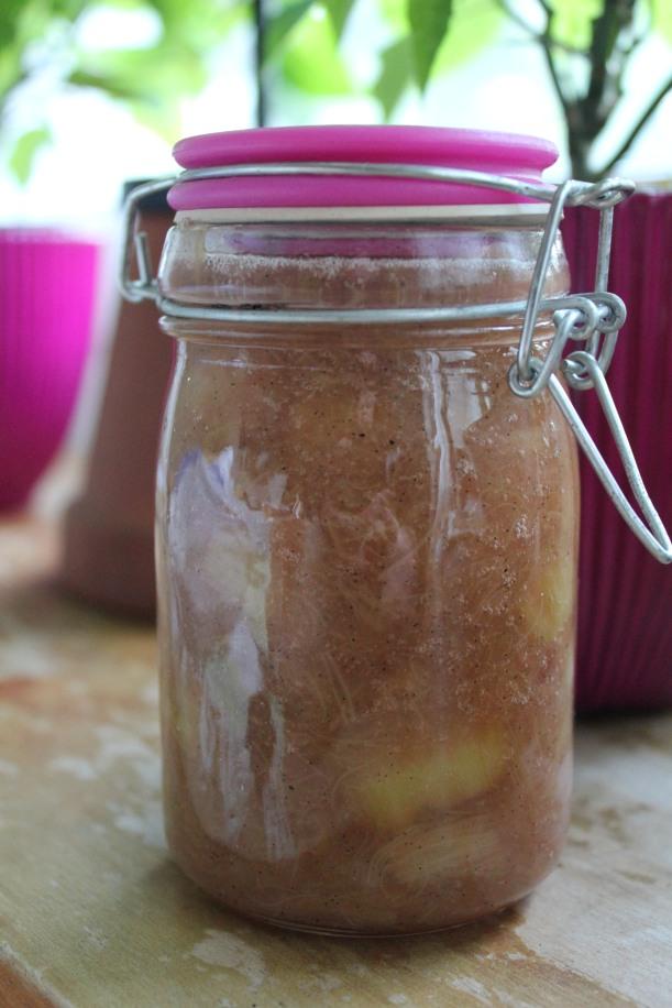 Rabarbermarmelad med vanilj