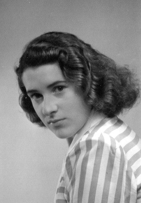 Min vackra mamma Alice, 20 år gammal.