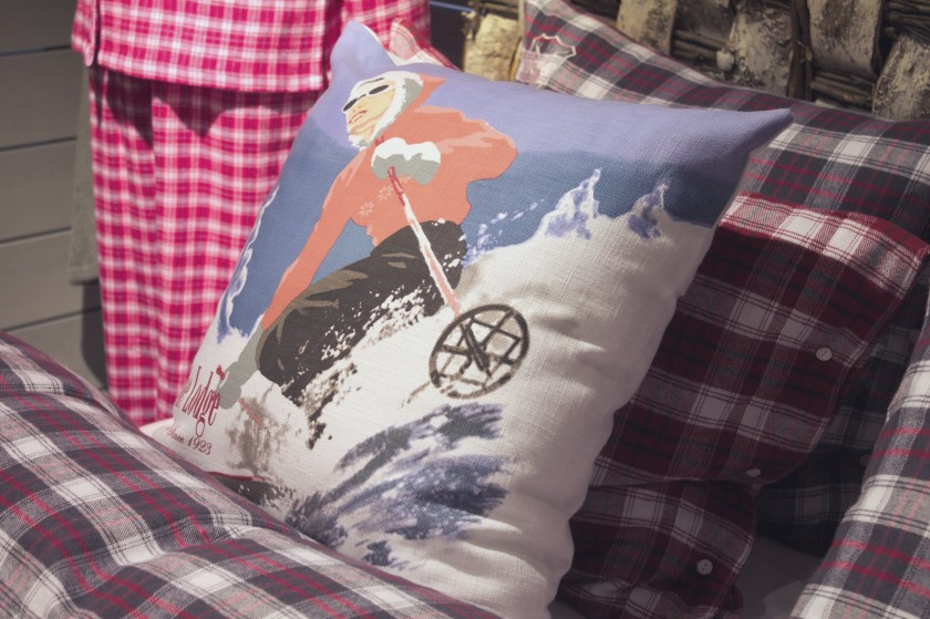 Mycket retro i år - till och med på sängkläderna. Jättefint, tycker Matmamman!