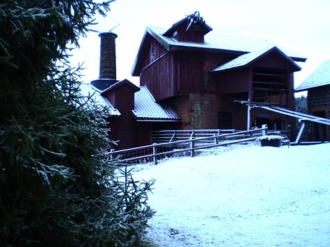2007 bjöd julmarknaden inte bara på glögg och hantverk av olika slag - utan även på gnistrande snö...
