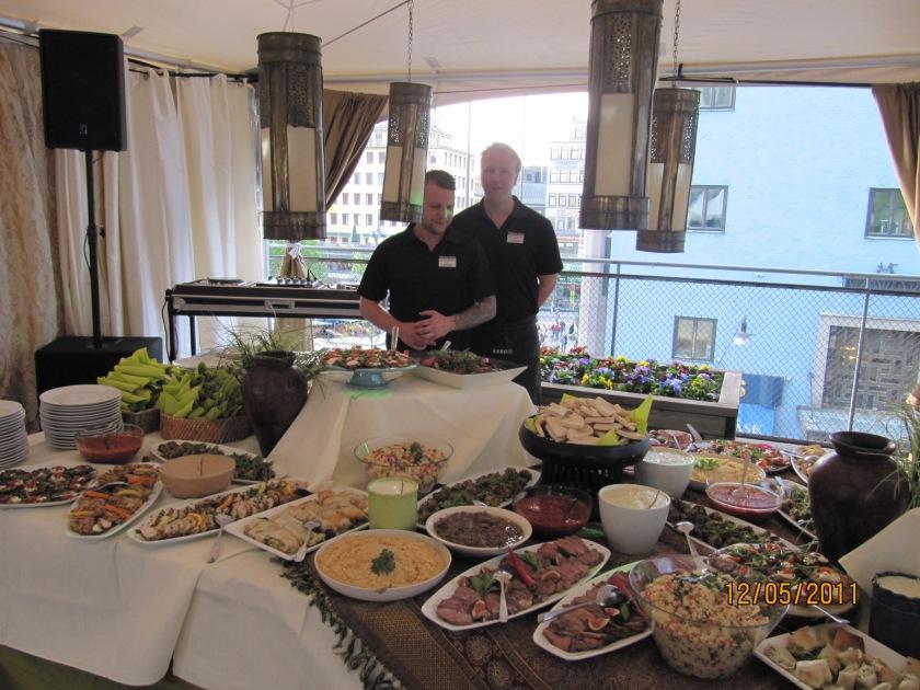 """Vällagad mat och bra service - Systrarna Sisters erbjuder både catering och festlokal"""" (Bild: Systrarna Sisters)"""