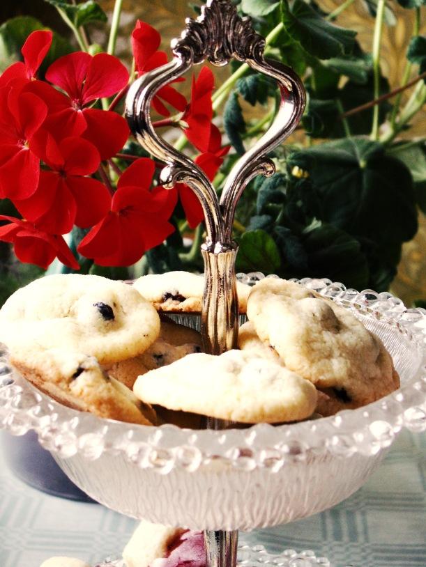 Makalösa... Och makalöst goda är de, dessa underbara kakor med korinter!