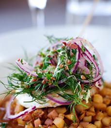 Härligt vällagad lunch! (Foto: Två grabbar & kök)