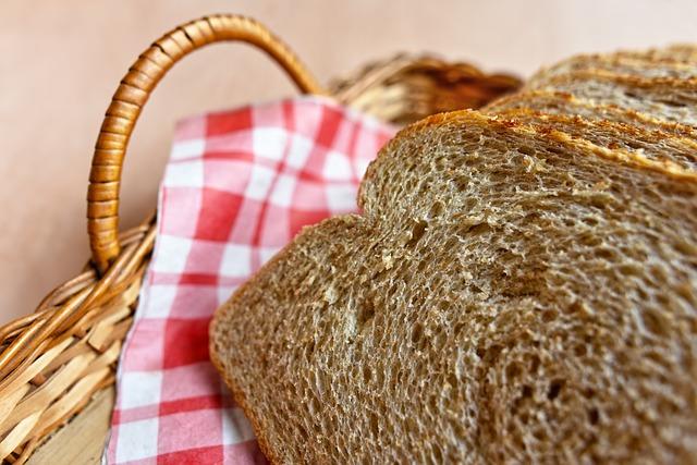 Gott lantbröd med mycket arom