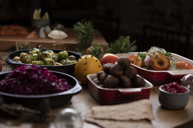 Julbord på Den Gyldene Freden