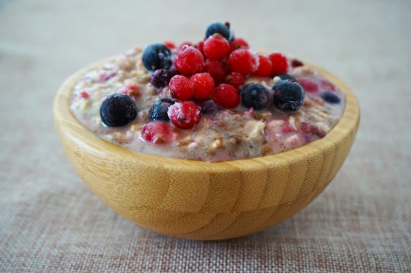 Finfina frukosten: Overnight Oats