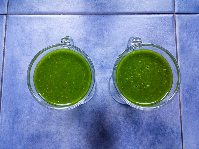 Finfina frukosten: Härlig grön smoothie